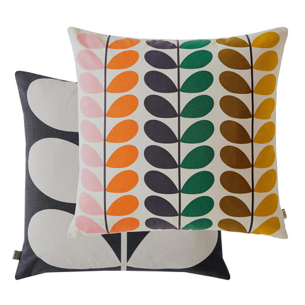 Orla Kiely Duo Stem Cushion, Multi 50x50cm