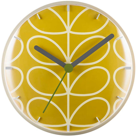 Orla Kiely Linear Stem Wall Clock