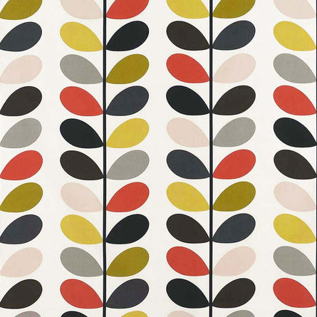 Orla Kiely Multi Stem Fabric, Tomato