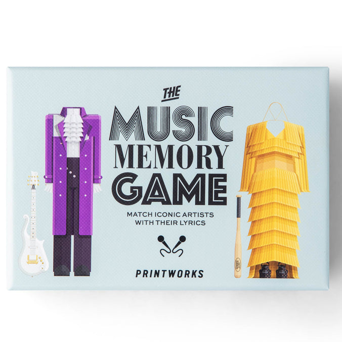 Printworks Memory Game, Music