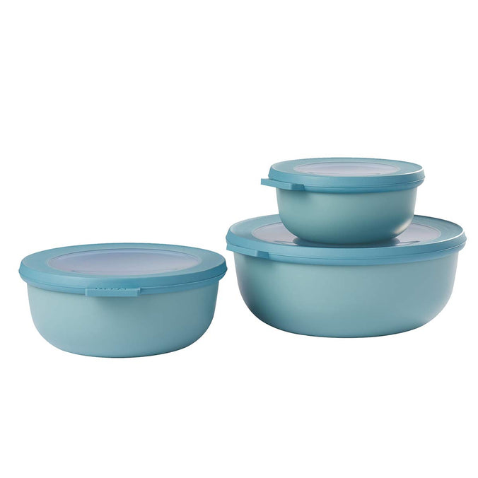 Mepal Cirqula Multi Bowl Set of 3, Wide