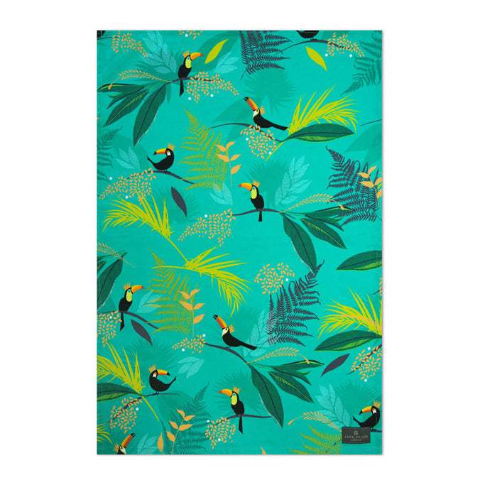 Sara Miller Tea Towel, Toucan Repeat