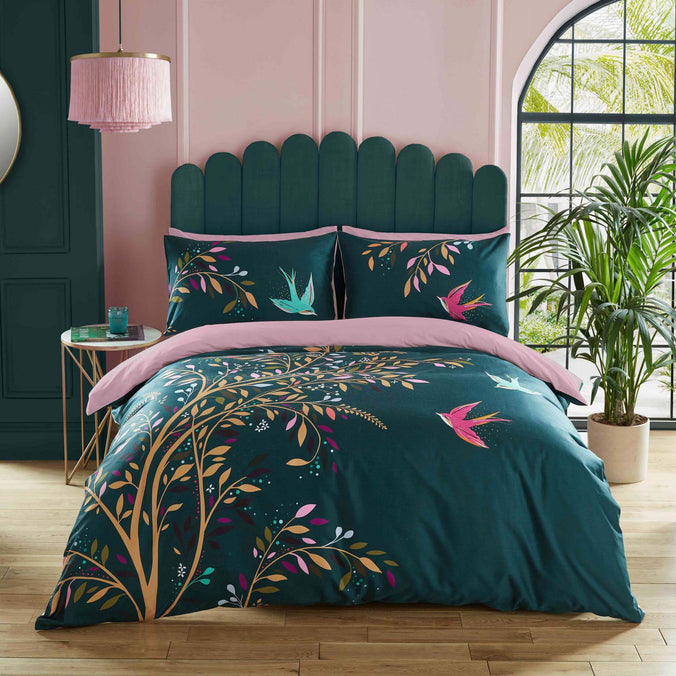 Sara Miller Dancing Swallows Bedding