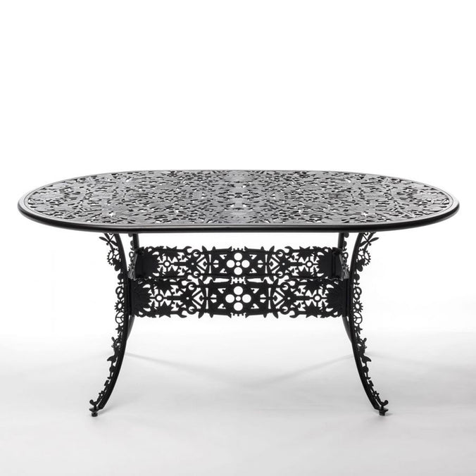 Seletti Industry Collection Aluminium Oval Table 90x152cm h74cm