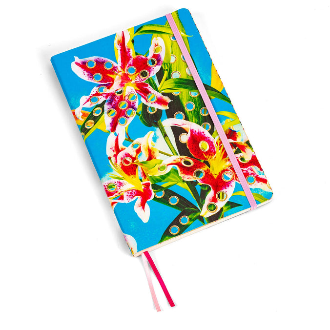 Seletti Wears Toiletpaper Notebook, Flowers with Holes