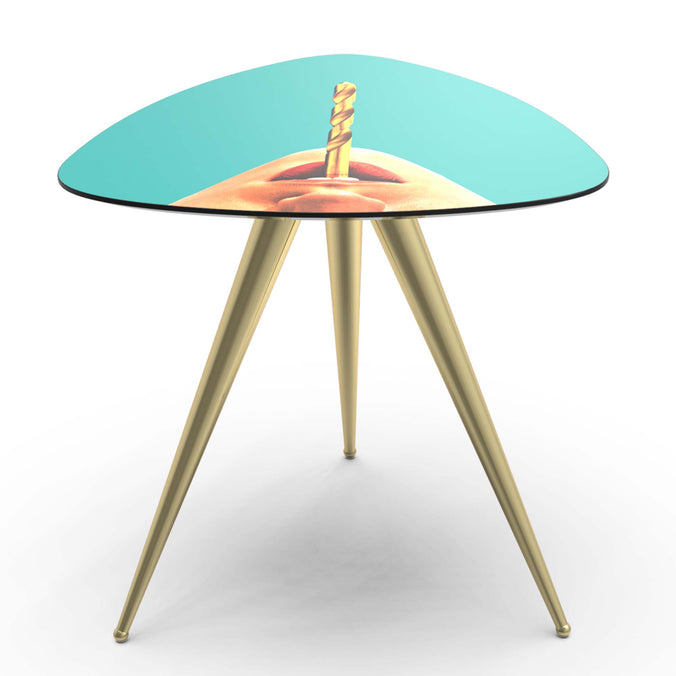 Seletti Wears Toiletpaper Side Table, Drill