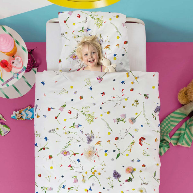Snurk Flower Fields Duvet Set