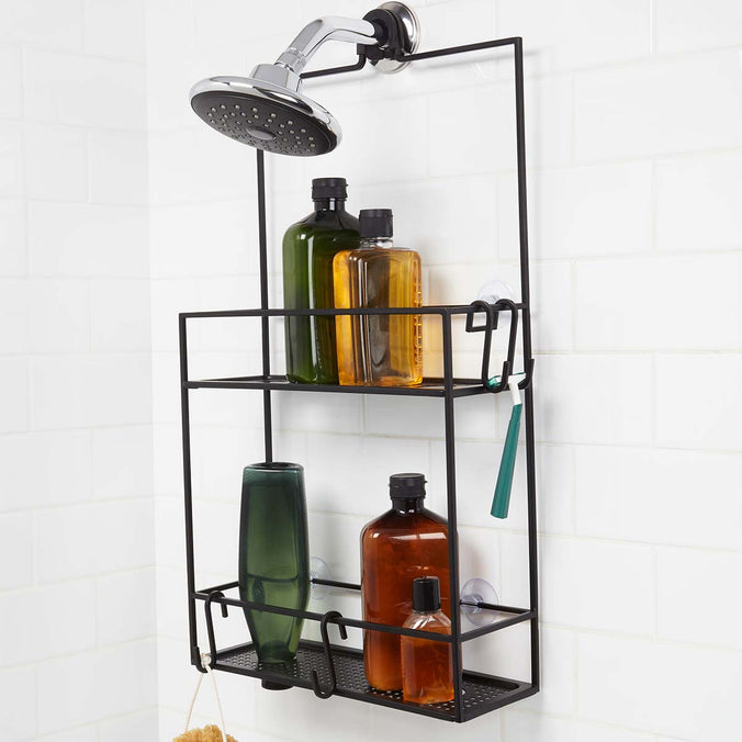 Umbra Cubiko Shower Caddy, Black