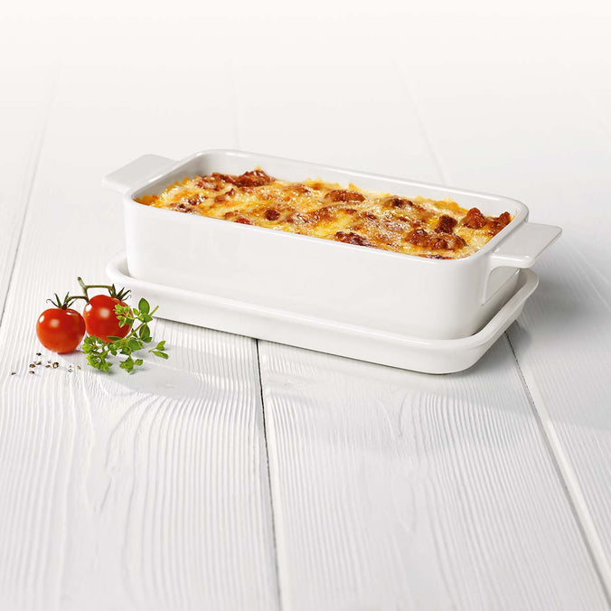 Villeroy & Boch Pasta Passion Lasagne Dish with Lid, Single Serving