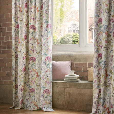 Voyage Maison Country Hedgerow Lined Pencil Pleat Curtains