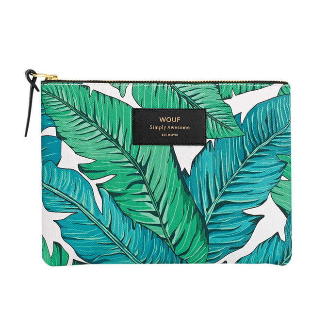 Wouf Large Pouch Bag, Tropical
