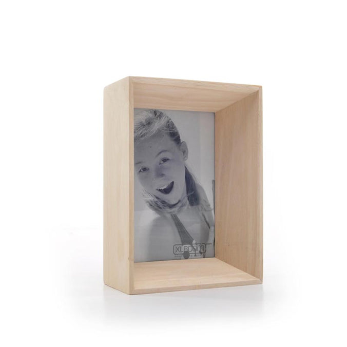 XL Boom Prado Photo Frame 10x15cm, Timber