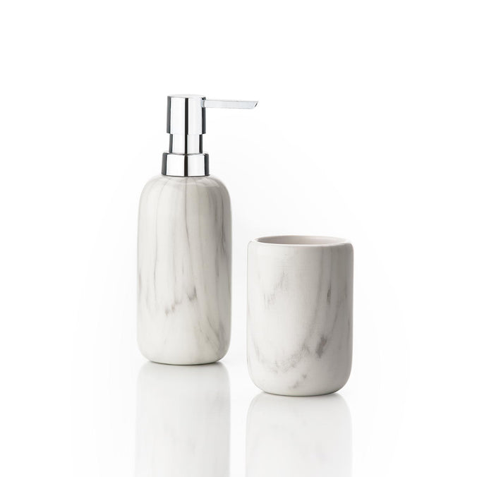 Zone Denmark Bathroom Set, Marble Structure