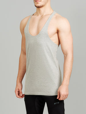 ETS Heather Grey Stringer Vest 2