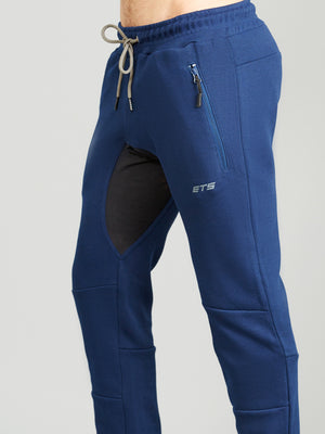 SYNERGY TAPERED SWEATPANTS - NAVY