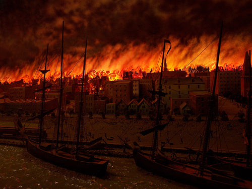 Red Snow Remebering The Great Chicago Fire Of 1871 Hook