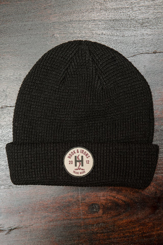 The Steamer Beanie - Black