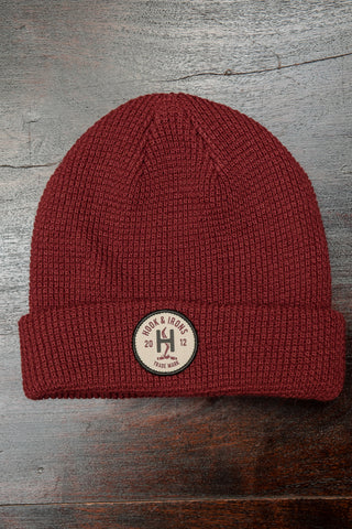 Steamer Beanie - Red