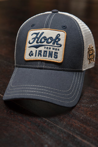 Hook Trucker - Navy Snapback
