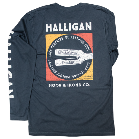 Halligan - Navy Long Sleeve