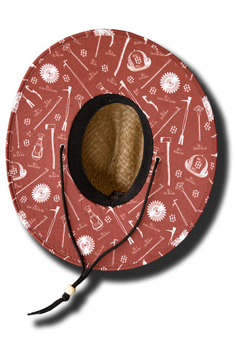 Infinity Straw Hat - Rust