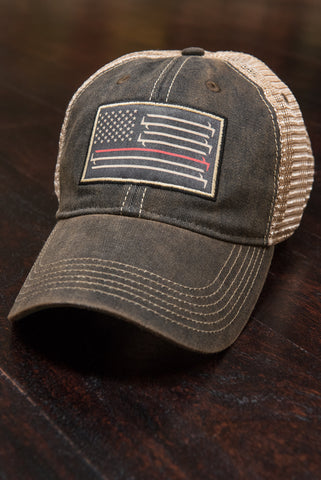 Stars And Bars - Flexfit Trucker