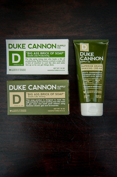 Duke Cannon's Products
