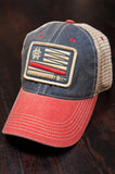 H&I United - Red White and Blue Snapback Trucker