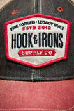 H&I Supply Co. - Black and Red Snapback