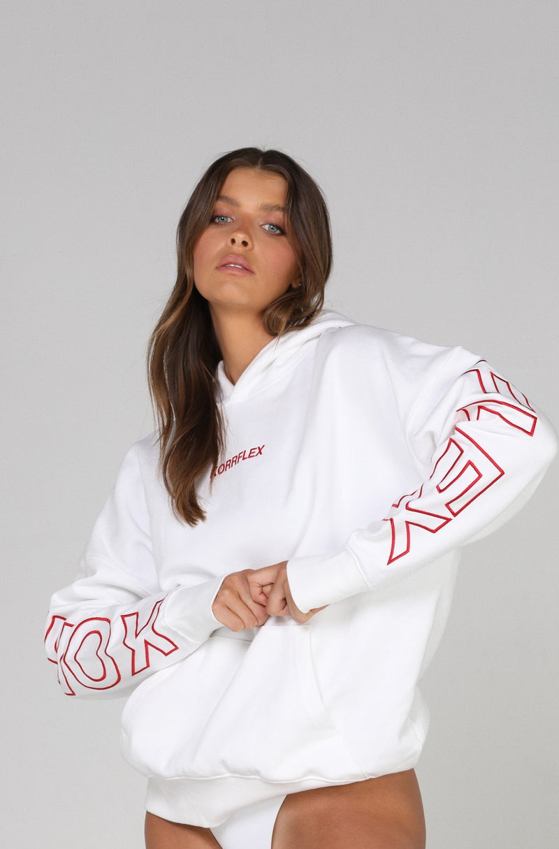 THE LOVERBOY HOODIE - WHITE