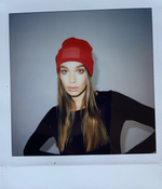 THE ANDO BEANIE - CHILLI RED