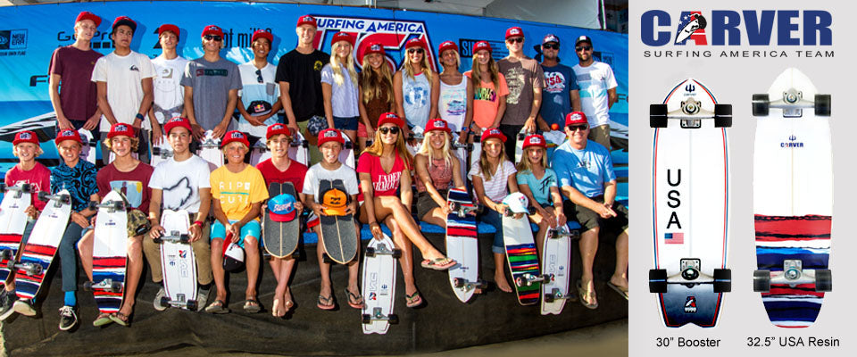 USA Surf Team Models – Carver Skateboards Online Shop