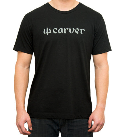 Carver Logo Short Sleeve (Black)