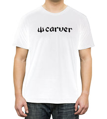 Carver Logo Short Sleeve (White)