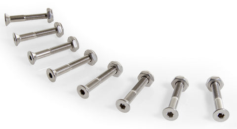 "1 1/4"" Stainless Steel Hardware Set"