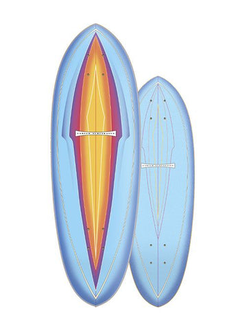 "2020 | Carver 31"" Blue Haze Surfskate Deck"