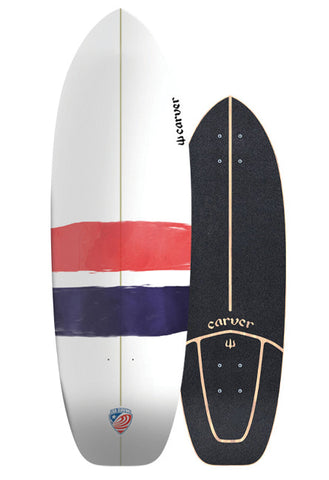 "2019 | 32.25"" USA Thruster Surfskate Deck"