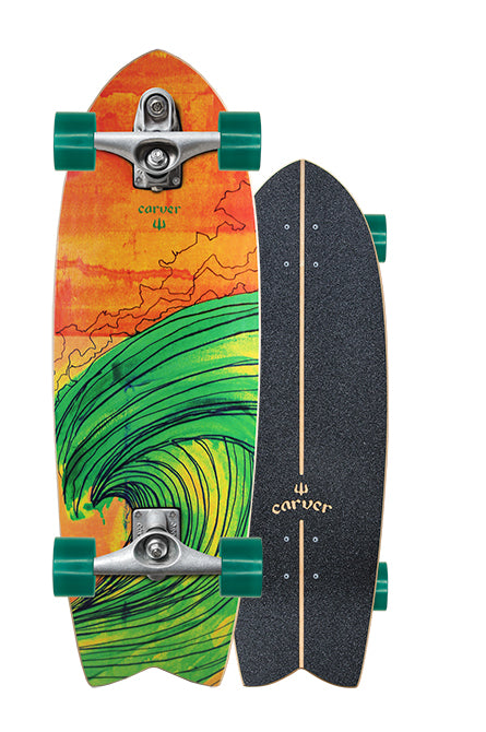 "29"" Swallow Surfskate Complete"