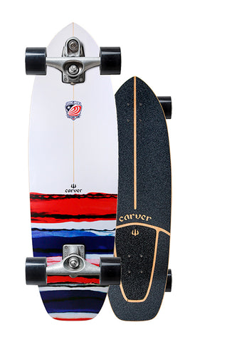 "32.5"" USA Resin Surfskate Complete"