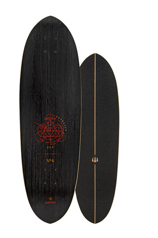 "Clearance 2019 | 33"" Haedron No. 6 Surfskate Deck"