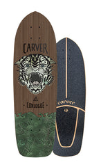 "2019 | 29.5"" CC Sea Tiger Surfskate Deck"