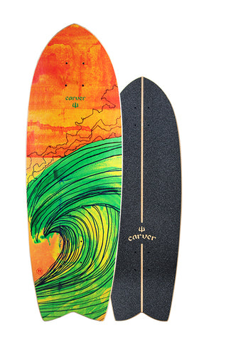 "29"" Swallow Surfskate Deck"