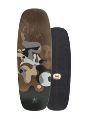 "2020 | Carver 27.5"" Gray Ray Surfskate Deck"