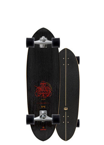 "2019 | 33"" Haedron No. 6 Surfskate Complete"