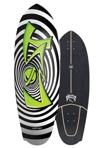 "2019 | Lost x Carver 30.50"" Maysym Surfskate Deck"