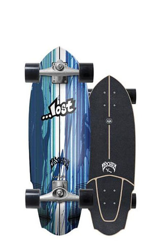 "2019 | Lost x Carver 30"" V3 Rocket Surfskate Complete"
