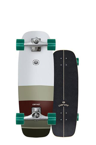 "Clearance 2019 | 27.5"" Mini Simmons Surfskate Complete"