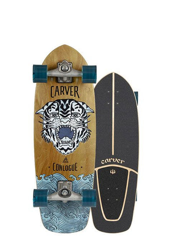 "2020 | Carver 29.5"" Conlogue Sea Tiger Surfskate Complete"