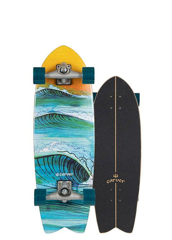 "2019 | 29.5"" Swallow Surfskate Complete"