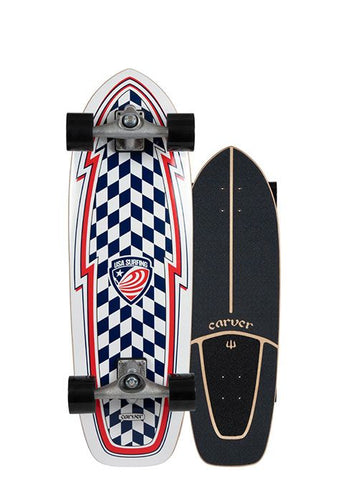 "2020 | Carver 30.75"" USA Booster Surfskate Complete"